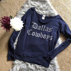 Dallas Cowboys Crew PINK sweatshirt